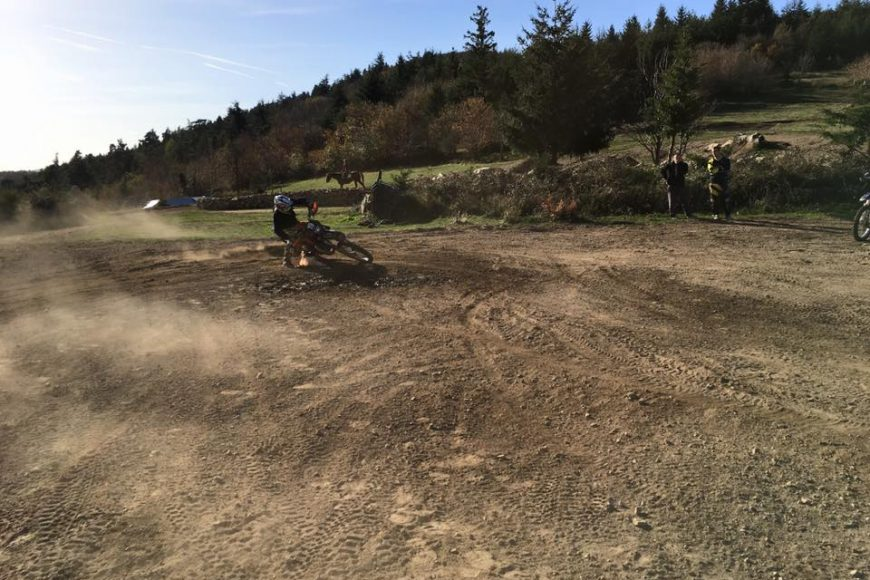 Stage Dirt Track